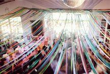 Wedding inspiration / bird deco #wedding #table #decoration #yellow
