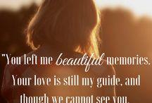 Memorial Quotes / Touching memorial quotes, in memory of, losing a loved one, memorial quotes, loved ones, family memorial quotes