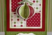 Christmas cards using Stampin' Up! / On my website, I show you how to make amazing professional handmade cards and other papercraft projects including scrapbooking, using Stampin Up quality, co-ordinating products. Grab your free video tutorial at www.natalieoshea.co.uk