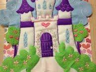 castillos de fieltro