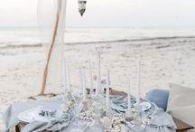 Boho beach bride / Boho beach bride inspiration moodboard