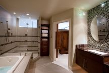 Bathroom Renovations / Are you hesitant about a bathroom renovation because you don't where to start? Our designers will help you create a design and budget plan that is practical and creative. Visit our site for ideas or to contact us. http://eklektikinteriors.com/bathroom-renovations