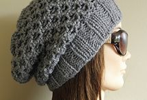 Knitted hat patterns to choose from