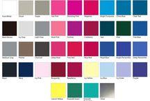 Colorimétrie Froide / Nuanciers de colorimétrie froide , exemples  de tenues dans différents styles pour trouver son inspiration (pour les personnes dont les couleurs froides mettent en valeur le visage)