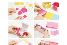DIY - Boites / boxes / Des boites, rangements et emballages cadeaux en folie ! Boxes, organizing tips and gift wraps party !