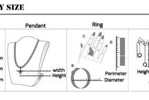 Jewelry Measurements