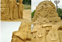 sand, snow & ice sculptures / by Scot Ackley