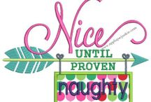 Applique/Embroidery Designs→Wants