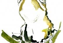 FLUID water colour art