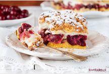 ciasto z wiśni