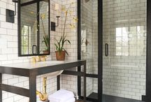 Groom / Form meets function in these masculine bathrooms...