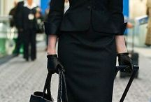 Ladies Black suits...