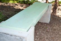 Puutarhakalusteet ja -rakenteet