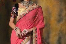 Designer saree / Wedding is one of the most precious moments in the life of a woman and it is important that she looks the best during her wedding. Bridal dresses are of many varieties. It changes according to the region, culture, state, taste and preferences. However, Lehenga Choli and sarees are quite common in most of the Indian weddings.