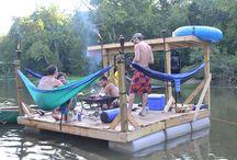 Cabin raft