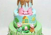 la peppa cake