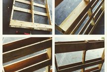 My pallet projects / Recycled wooden pallets projects I've undertaken