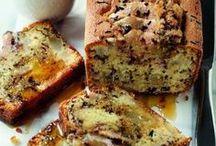 gâteau au yaourt et poire