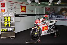 Marco Simoncelli / SIC58...probably one of the best and the funniest pilot who has ever been in Moto Gp..and I miss him so much