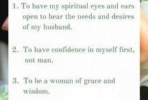 Praying wives