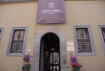 Palazzo Coppini - Florence / Palazzo Coppini has seven rooms for encounters, meetings, training and seminars on its ground and first floors. The rooms house collections of items and books donated to the Fondazione over the years as tokens of cultural diversity (see the biographical notes on the Experts to whom the rooms are dedicated and on the collections).