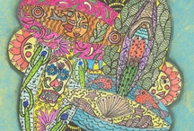 Zentangles and Doodles / by Beth Deegan