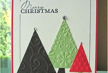 Christmas Cards / Hand made Christmas cards / by Andrea Brown