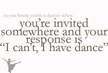 You know your a dancer when??? / You know your a dancer when