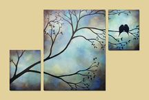 Painting & Canvas Ideas / Paintings & canvas Ideas