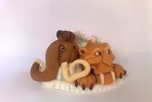 ICE AGE 4 3D FONDANT FIGURES / by Figurice Za Torte
