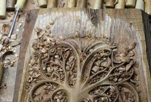 나무서각기법