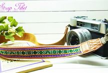 Lusikka colorful ethnic pattern camera strap / Lusikka colorful ethnic pattern camera strap