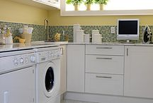 Spaces: Laundry Rooms & Mudrooms