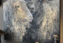 schapen schilderijen