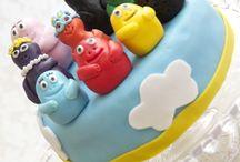 Gâteau Barbapapa