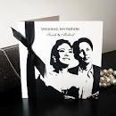 Monochrome Wedding Invitations / Weddings in Surrey - Monochrome Wedding Invitations for Surrey Weddings
