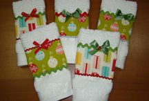 toallas navideñas