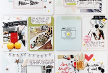 scrapbooking - project life, pocket pages