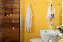 decoração de banheiro / by Dinara Cristina Stiehler