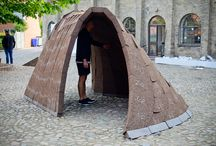 the art of the ephemeral / urban installations and pavillions