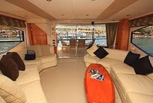 Deluxe yachts and interiors / I will pin deluxe cruisers and interiors on this board as i'm a big fan of boat charters. The thing is, they cost a fortune ! So might only look at them hehehehe