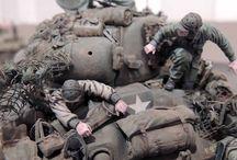 WW2 diorama / military modeling inspiration