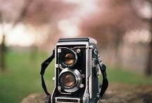 Vintage TLR Film Cameras / Vintage twin-lens reflex cameras / by Utah Film Photography