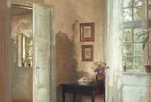 Ζωγραφική εσωτερικό σπιτιου