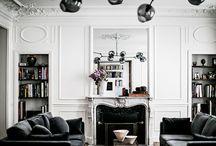 modern parisian interiors.