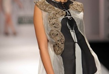 "Anamika Khanna / Collection of ensembles presented by Anamika Khanna at ""Wills Lifestyle India Fashion Week"" from 2009 onwards."