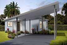 Home Exterior and Facade Ideas / Green Homes Australia offer many different options when it comes to the look and feel of your home.