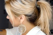 Ways to tame my messy hair! / by Ashley Martell