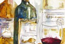 watercolor kuchnia