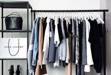 Transitional style | Tu closet / Maneras en como organizar tu closet con poco presupuesto y mucha imaginación
